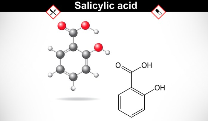 Salicylic acid helps fight acne and glycolic acid helps in removing dead skin cells