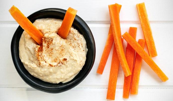 Include veggie snacks in your diet.