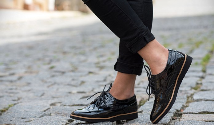 Comfortable shoes will help you stay on your feet.