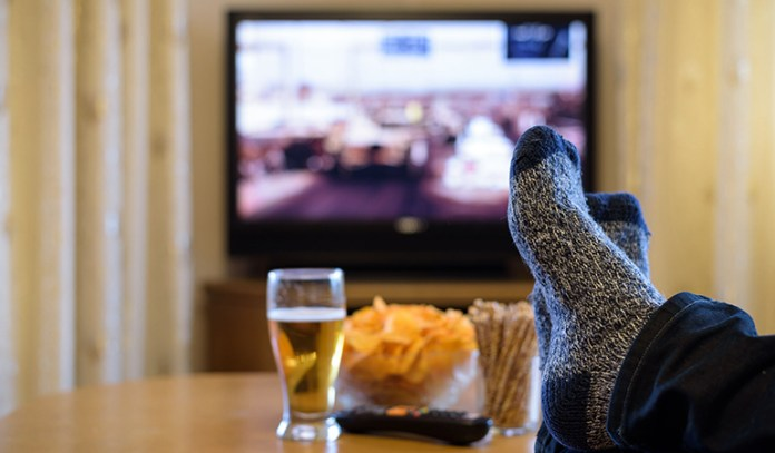 Researchers found that men who watched more TV were less fertile as compared to those who didn't watch TV.