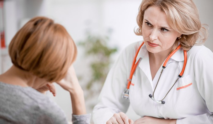 Doctor shouldn't accuse patient and create guilt