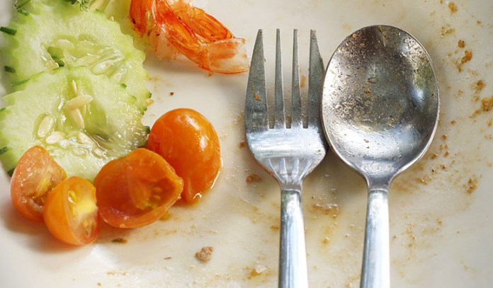 While eating on schedule, you may not eat your fill if you're not really hungry