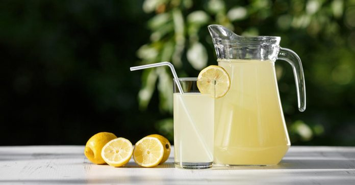 Drinking lemonade can help you maintain the alkaline nature of your body