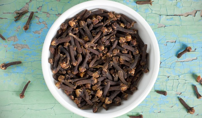 Eugenol in cloves has been shown to inhibit blood platelet-clotting.
