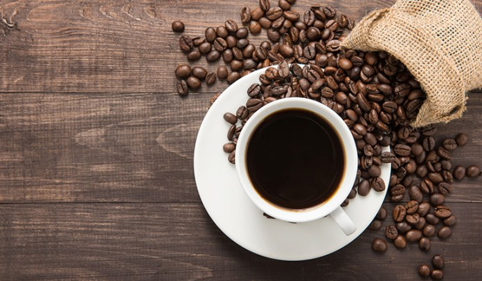 Drink and consume all your caffeine early