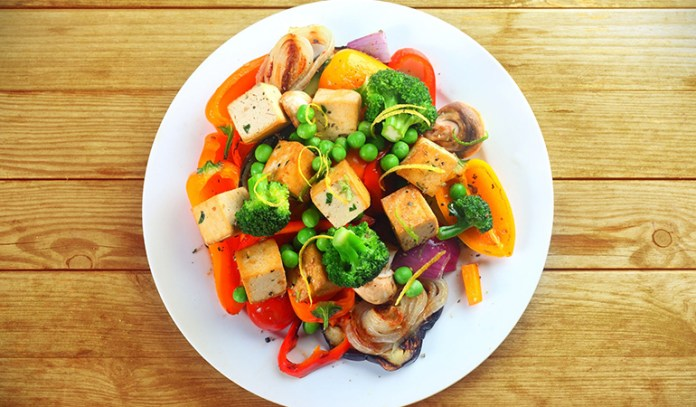 Eat a variety of fruits and vegetables in every meal