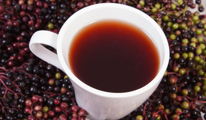 Elderberry juice has been used as an anti-viral since ancient times