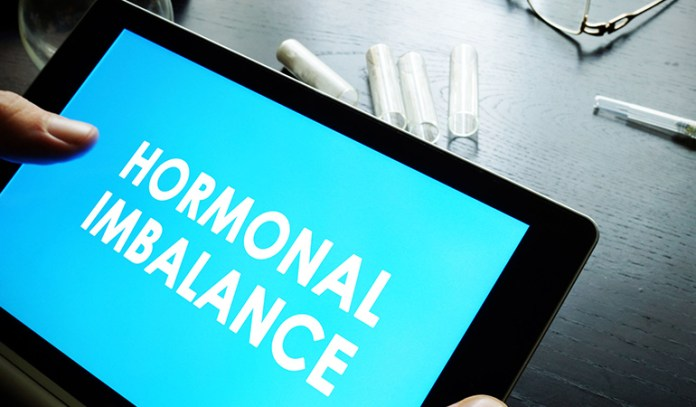 Hormonal imbalance results in overstimulated sebaceous glands and hence forehead acne