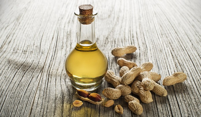 Peanut oil promotes weight loss.