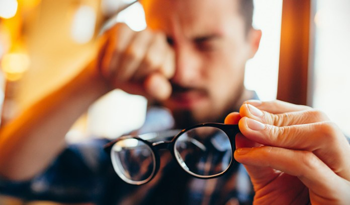 diabetes-related loss of vision