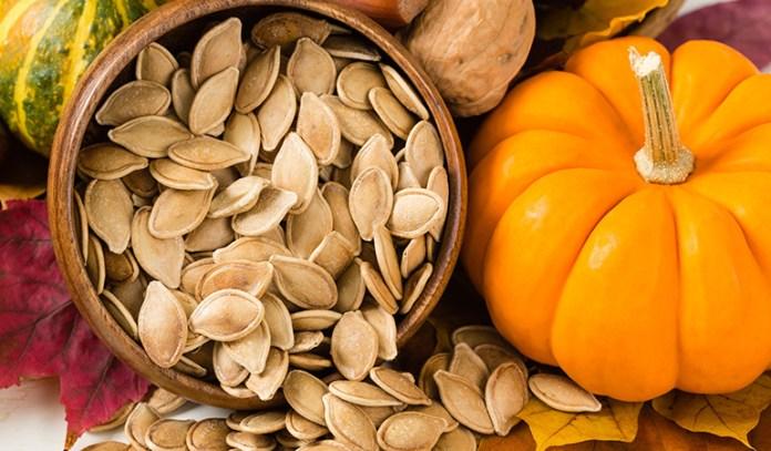 Pumpkin seeds destroy parasites.