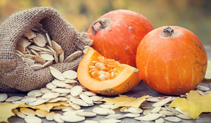 Pumpkin is rich in fiber which increases satiety and prevents unhealthy snacking tendencies.