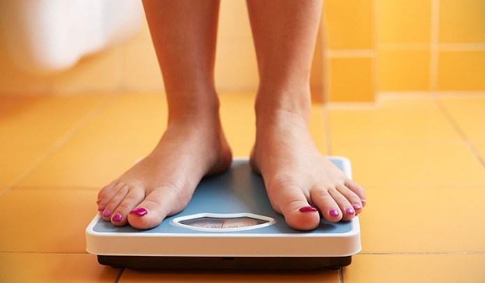 Don't measure your weight more than once a month.