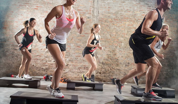 Step-ups can help you lose weight.