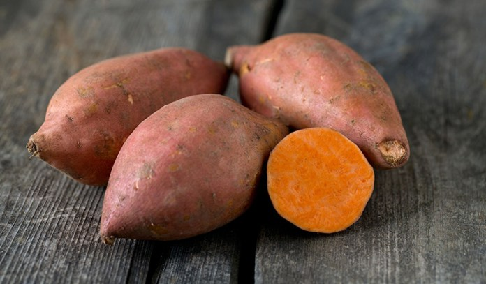 Sweet potato for a healthy pie crust