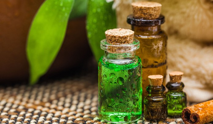 Tea tree oil kills bacteria that cause cavities, acne, and infections