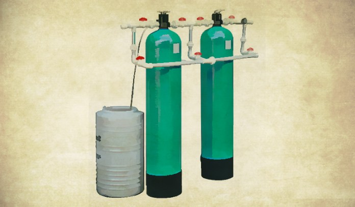 Water softeners work well for the whole house and get rid of water hardening minerals