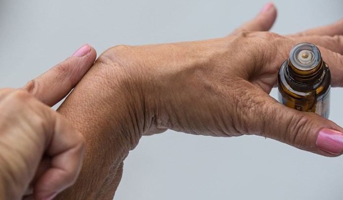 Ganglion cysts are soft, round fluid-fill lumps that appear along the joints, ligaments or tendons.
