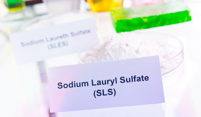 Sodium lauryl sulfate can combine with other chemicals to form carcinogens