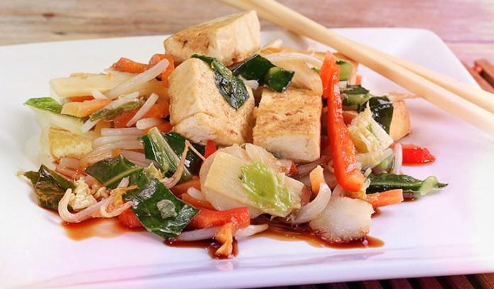 Fortified raw tofu has 120 IU of vitamin D.