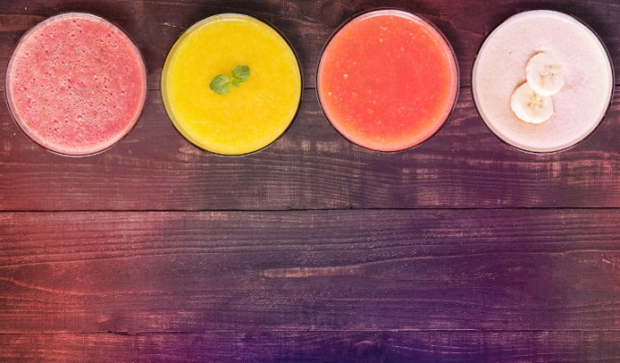 Fruit juices and smoothies are devoid of fiber and contain lots of sugar