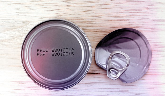 Pay attention to the expiry dates of products