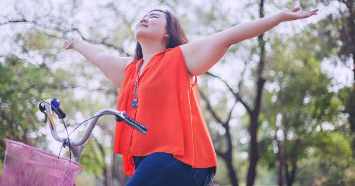 carrying extra weight doesn't necessarily indicate bad health
