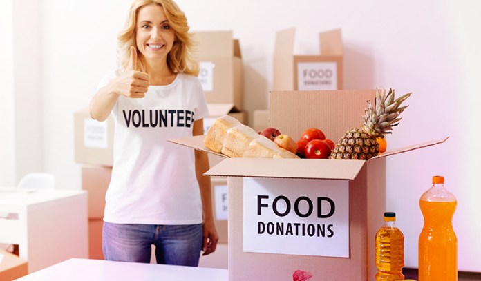 Food donations can help reduce food waste