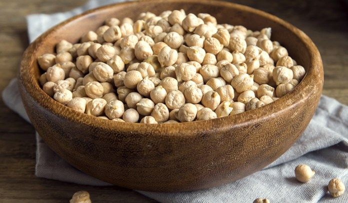 Chickpeas are complex carbs that can increase serotonin levels