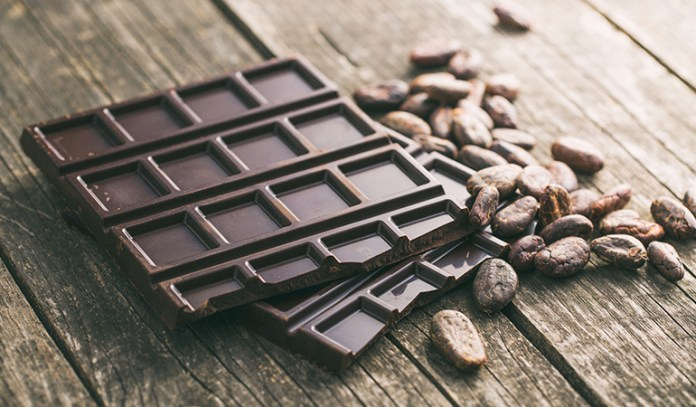Dark chocolate has a significant effect on mood