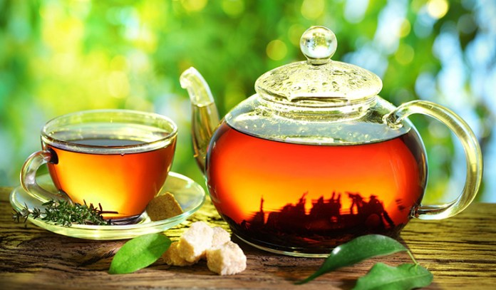 Green tea contains antioxidants that guard the liver against damage