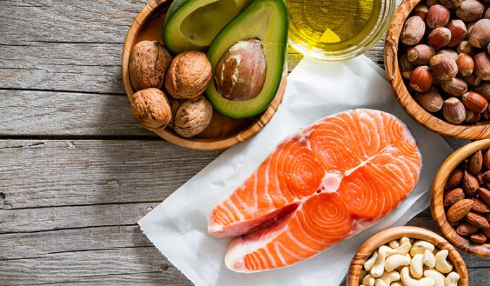 You should be having good fats in each of your meals