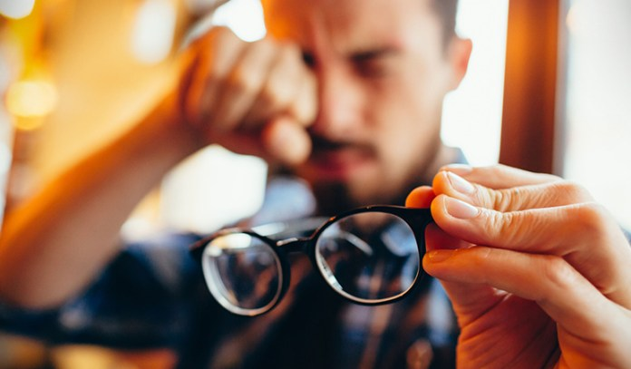 Blurriness or loss of sight in one eye could be a sign of a stroke