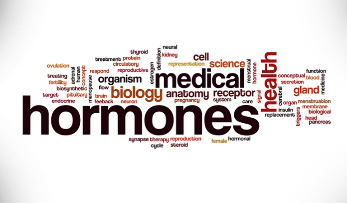 Hormonal changes lead to psoriasis.