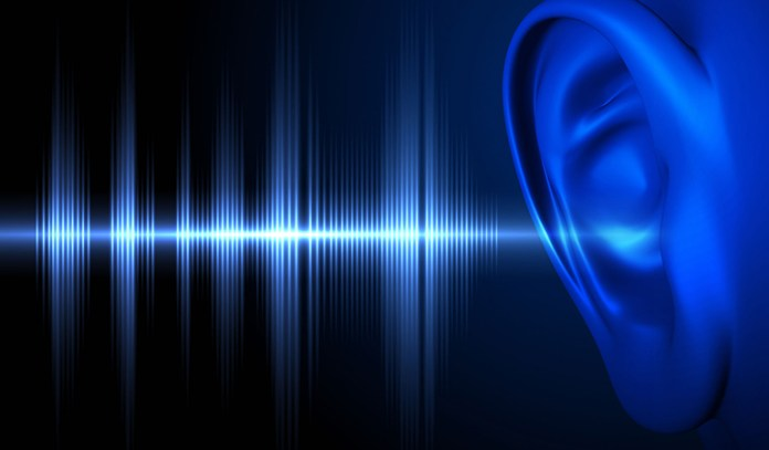 White noise uses all sound frequencies to mask background noise