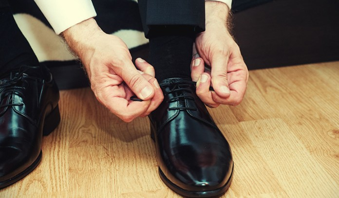 Olive oil helps to shine your shoes