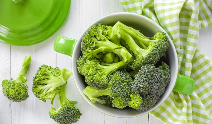 Kale is related to broccoli.