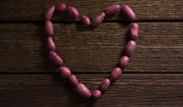 Sweet potatoes can keep the heart healthy