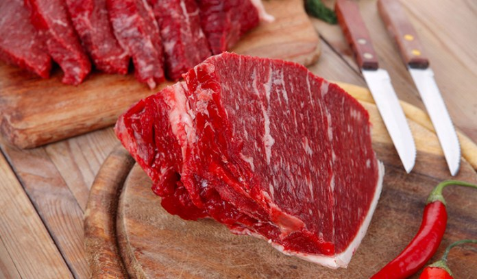 Meat leads to inflammatory acne.
