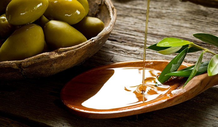 olive oil is great for preventing aging