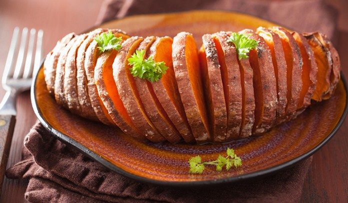 Sweet potato and peanut butter are energy boosters.