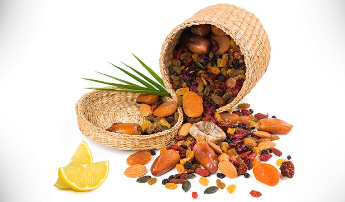 Soak dried fruits in lemon solution to remove the sulfite.