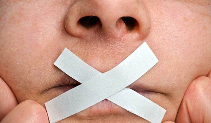 Unable to talk properly or slurry speech is a sign of stroke