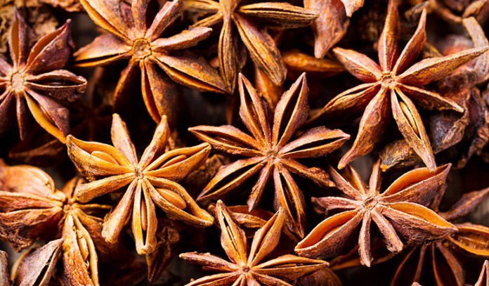 Star anise contains compounds that stop the growth of the herpes virus