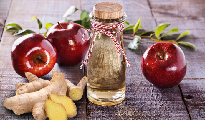 Ginger and ACV relieve bloating.