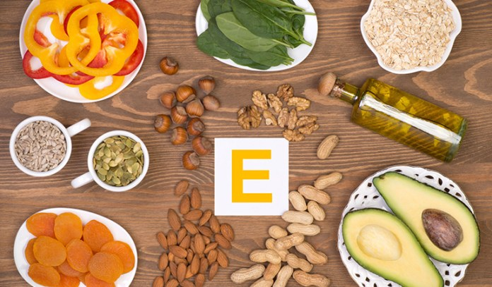 Vitamin E boosts scalp health.