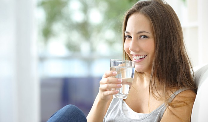 Drinking water can reduce the chance of bacterial infections