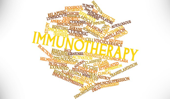 Immunotherapy is used for the treatment of kidney cancer