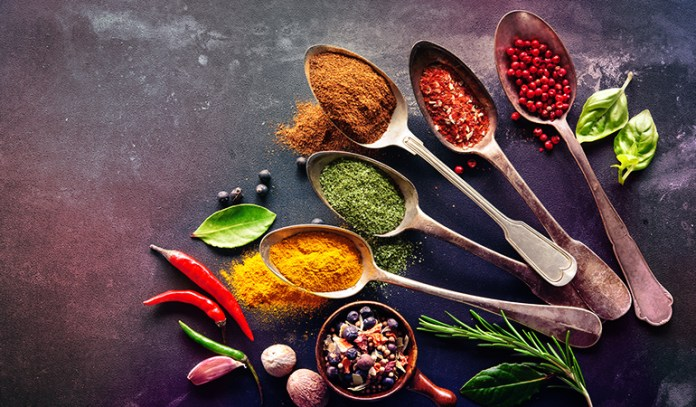One teaspoon of paprika has 602 mcg of beta carotene.