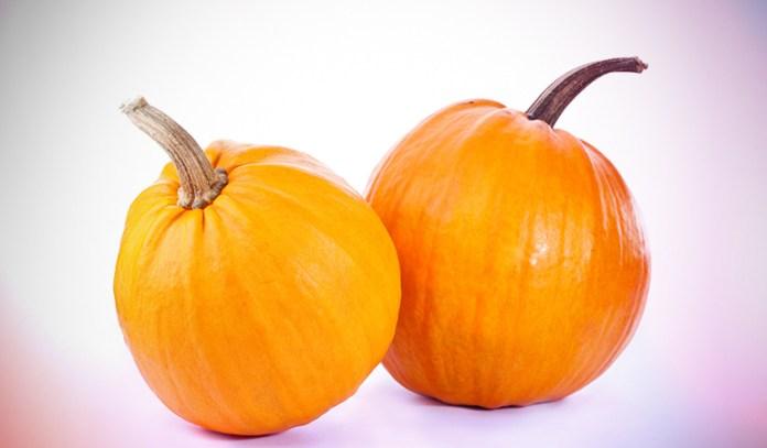 Pumpkins have 2567.5 mcg of beta-carotene per half cup.